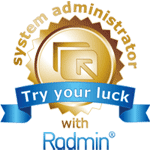 The contest «Try your luck with Radmin» is over: the winners announced